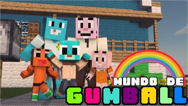 Minecraft  Mundo De Gumball (nova SÉrie!)  1