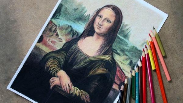 Desenhando A Mona Lisa ( VÍdeo Comentado )
