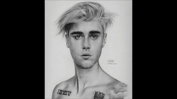 Desenhando O Justin Bieber