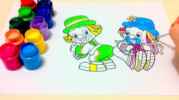 Patati PatatÁ Colorindo Patati PatatÁ   Pintando! Coloring Pages
