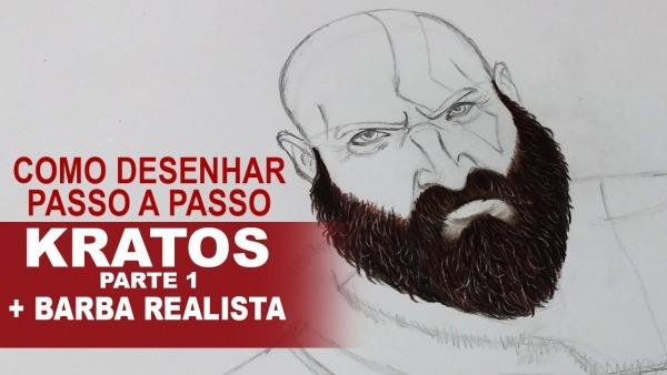 Como Desenhar O Kratos