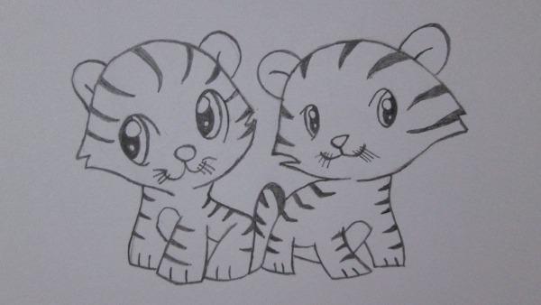 Como Desenhar Tigres