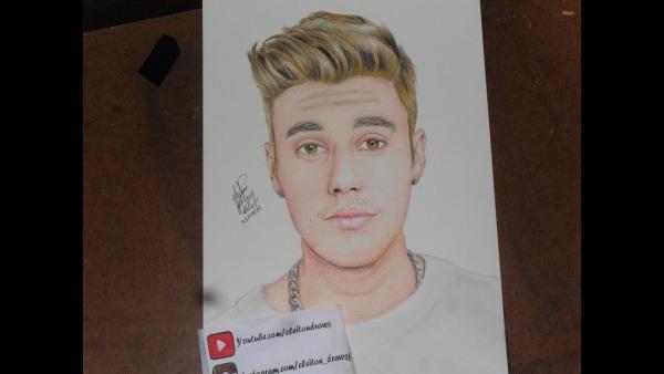 Vídeo Aula Como Desenhar O Cabelo Do Justin Bieber