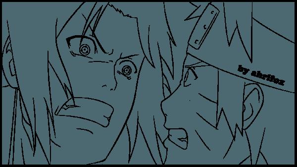 Imagens De Naruto Vs Pain Para Colorir