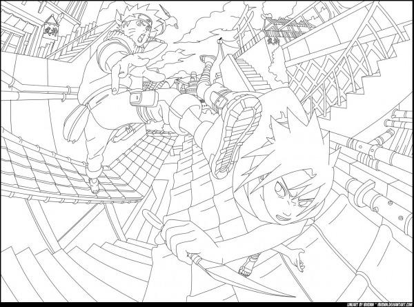 Naruto Vs Sasuke By Ibushin On Deviantart – Pampekids Net