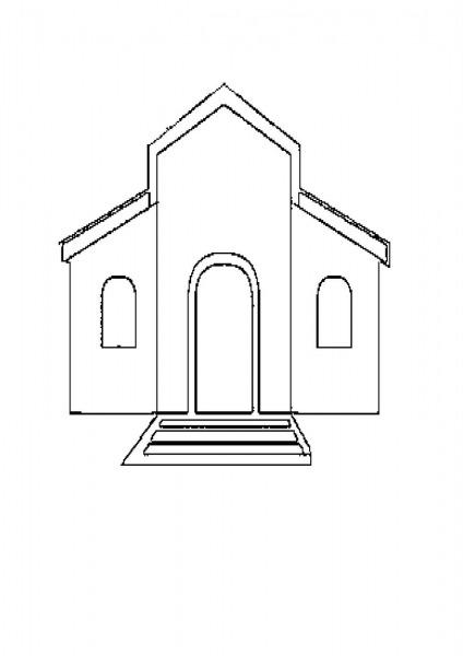Almir E Suzana Igrejas Para Colorir – Pampekids Net