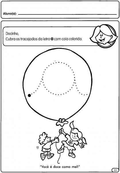 Atividades Com Vogais Cursivas Para Educação Infantil