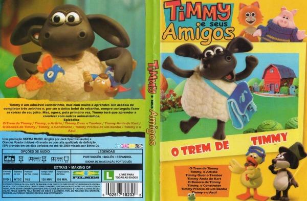 Capa Dvd Timmy E Seus Amigos O Trem De Timmy