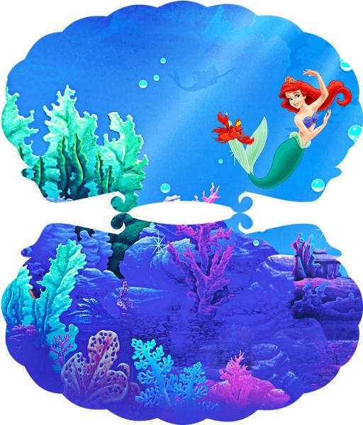 Montando Minha Festa  Kit Digital Gratuito Para Imprimir Ariel