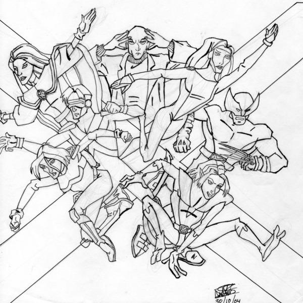 Desenhos Para Colorir X Men