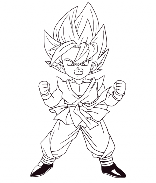 Desenhos Colorir Dragon Ball Z – Free Coloring Pages