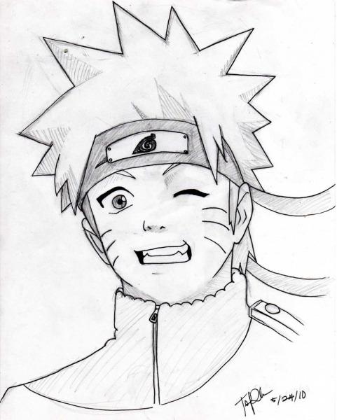 Desenhos Para Copiar Do Naruto