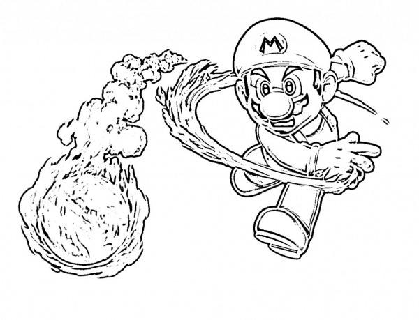 Desenhos Do Mario Para Colorir – Pampekids Net