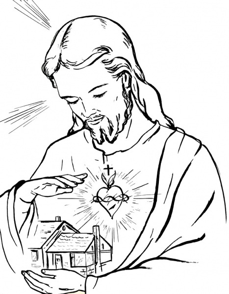 Desenhos Para Imprimir De Jesus – Pampekids Net