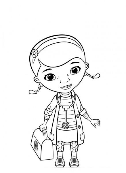 Desenhos Para Colorir Doutora Brinquedos – Pampekids Net