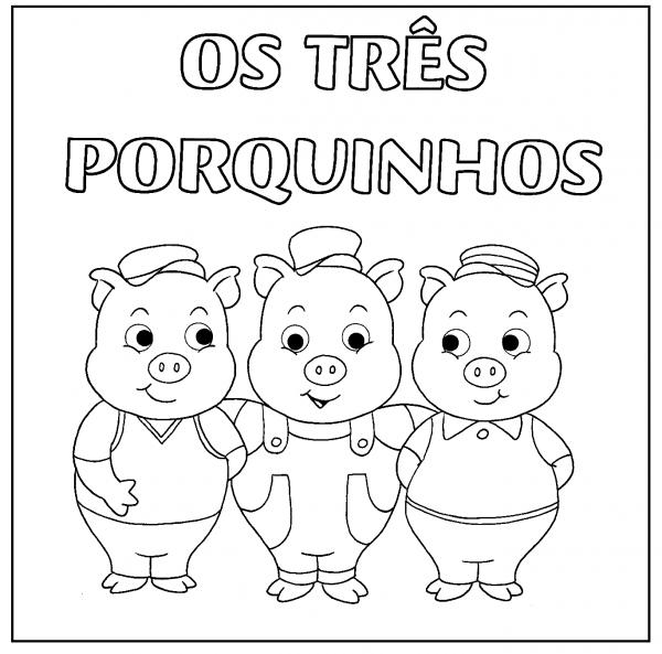 ParaÍso Do Educando  Os Três Porquinhos