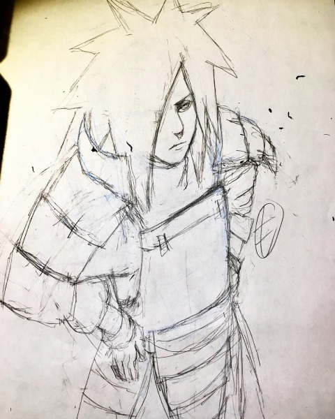 Madara Uchiha Art