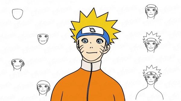 Como Desenhar Naruto Uzumaki Dos Quadrinhos Japoneses Passo A Passo