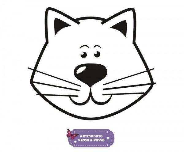 Gato Para Colorir  Desenhos Para Imprimir