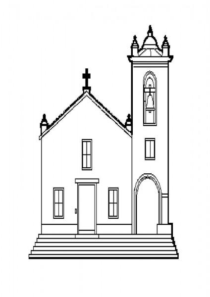 Almir E Suzana  Igrejas Para Colorir