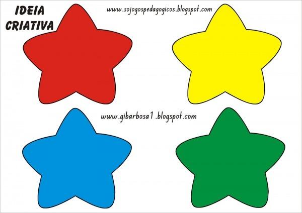 Só Jogos Pedagógicos  Jogo Pedagógico Estrelas Coloridas