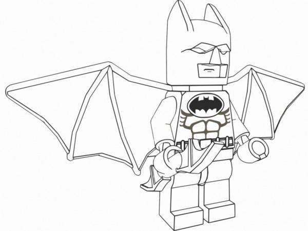 Desenhos Para Pintar Batman