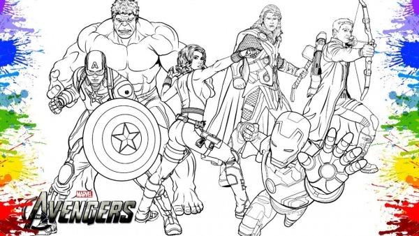 Desenho De Super Heróis Da Marvel Avengers Comics Quadrinhos Iron