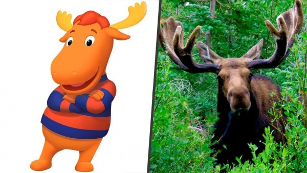 The Backyardigans In Real Life! All Characters