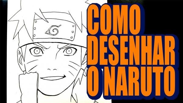 Como Desenhar O Naruto