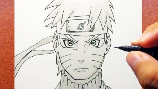 Naruto Pra Desenhar Deslumbrante O Desenhar Naruto Shippuden Modo