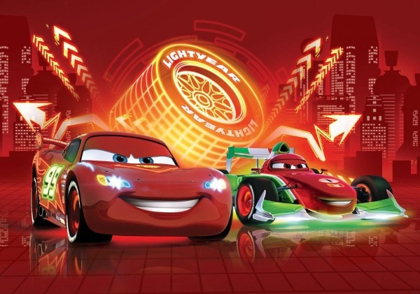 Painel Carros 2,00 X 1,00m, Cars, Desenho, Carro, Corrida