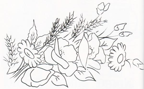 Desenhos De Flor Para Pintar – Pampekids Net