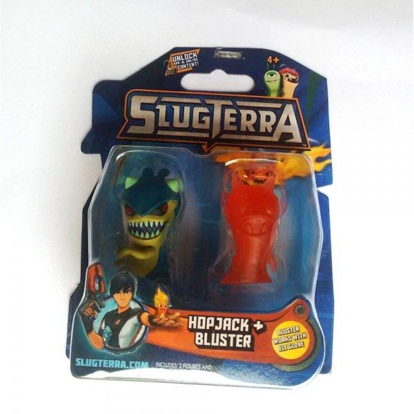 Slugterra 02 Lesmas Hopjack + Bluster, Playtoy Brinquedos