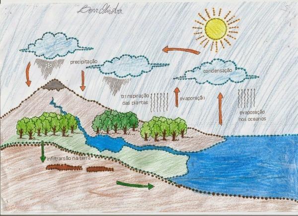 Ciênciasekos  O Ciclo Da Água Na Natureza