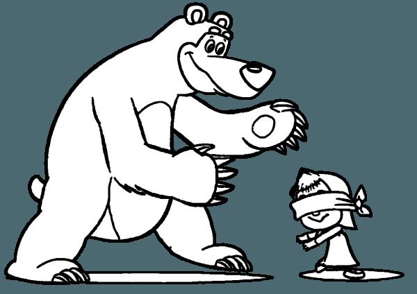 Urso Para Colorir E Imprimir