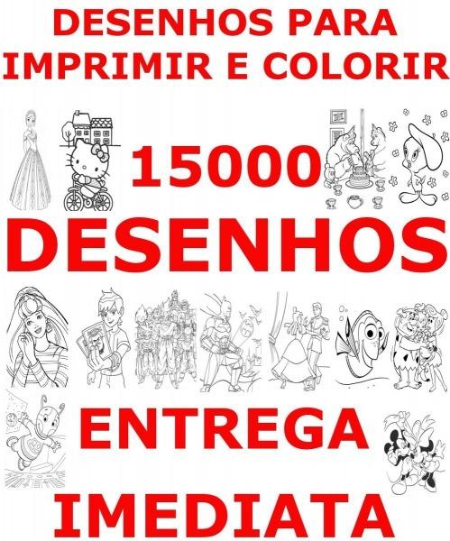 15000 Desenhos Infantis Para Colorir