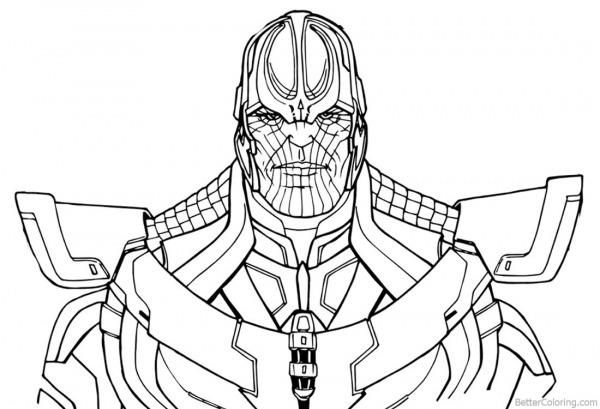Desenhos De Marvel Para Colorir, Pintar E Imprimir