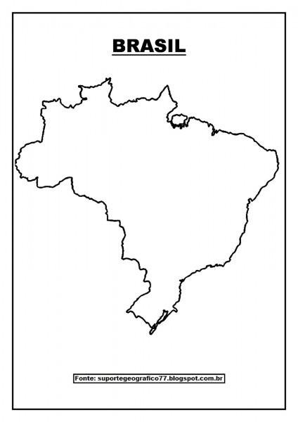 Suporte Geográfico  Mapas Para Colorir