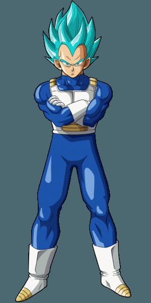 Vegeta Super Saiyajin Azul