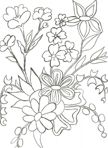 Desenhos Para Colorir Flores Primavera – Pampekids Net