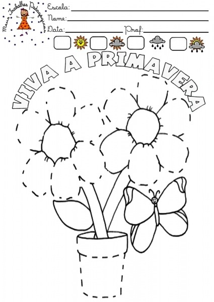 Meus Trabalhos Pedagógicos ®  Primavera