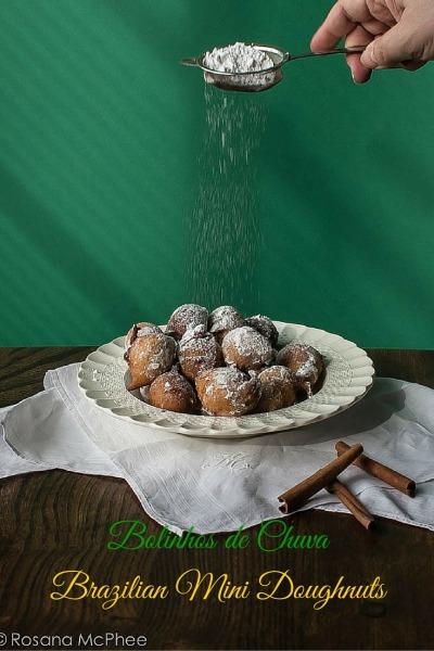 Bolinhos De Chuva, Brazilian Mini Doughnuts Recipe
