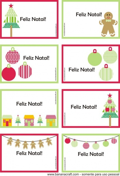 Cartoes De Natal Para Imprimir …