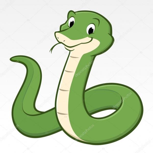 Cobra Verde De Desenho Animado — Vetores De Stock © Mumut  90036840
