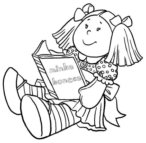 Desenho De Bonecas Para Colorir ~ Imagens Para Colorir – Pampekids Net