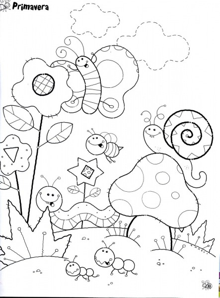 Desenhos De Paisagens Para Colorir – Pampekids Net