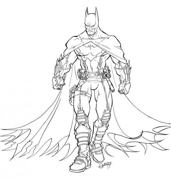 Dibujos Ideia Criativa  Desenho Batman Para Colorir
