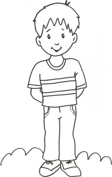 Desenho Para Colorir Para Menino – Pampekids Net