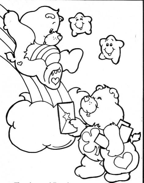 Desenhos De Colorir Dos Ursinhos Carinhosos – Pampekids Net