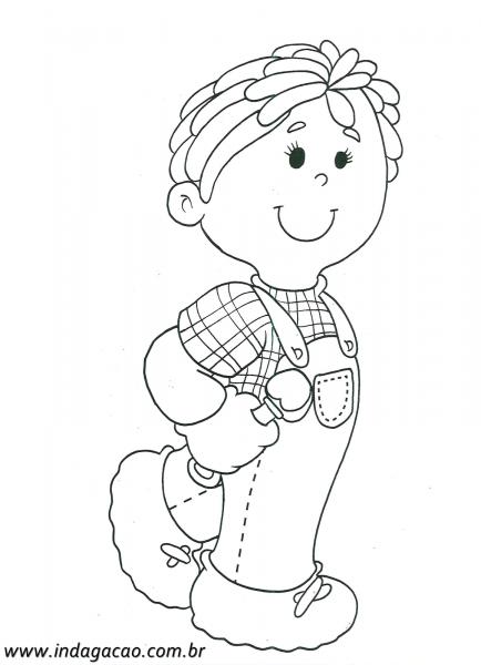 39 Desenhos De Meninos Para Colorir